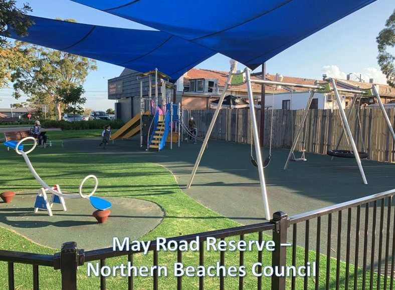May road reserve- Northern Beaches Council